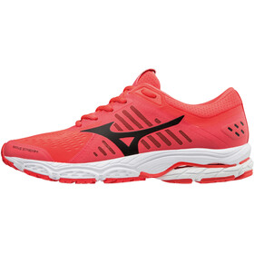Mizuno Wave Stream Running Shoes Women fiery coral/black/white